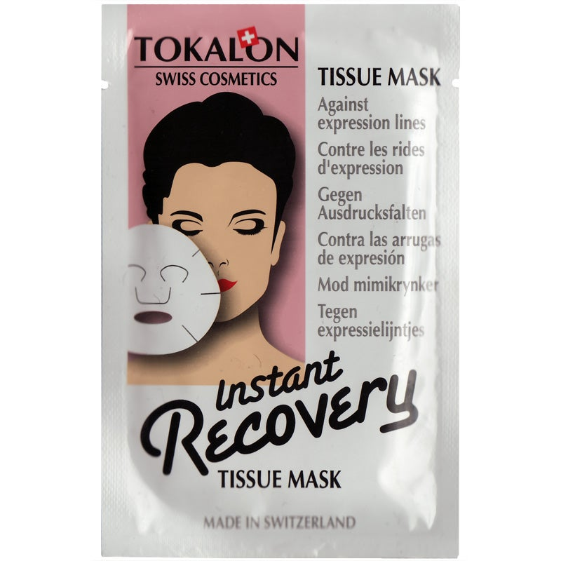 Tokalon Swiss Cosmetics Tokalon Tissue Mask Instant Recovery