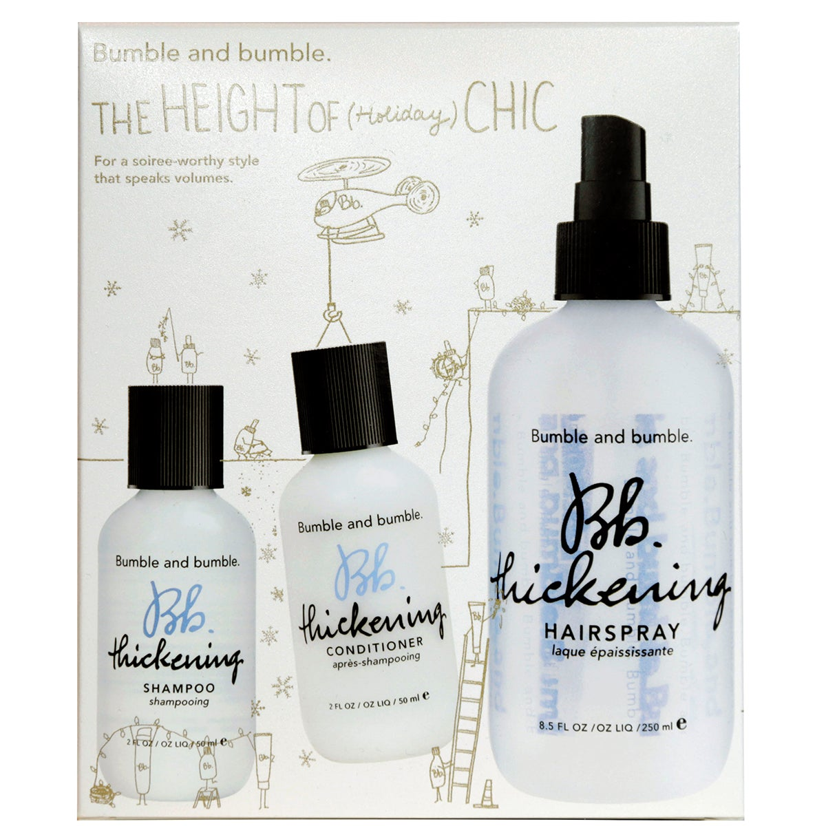 Bumble & Bumble Holiday 2016 Thickening Set