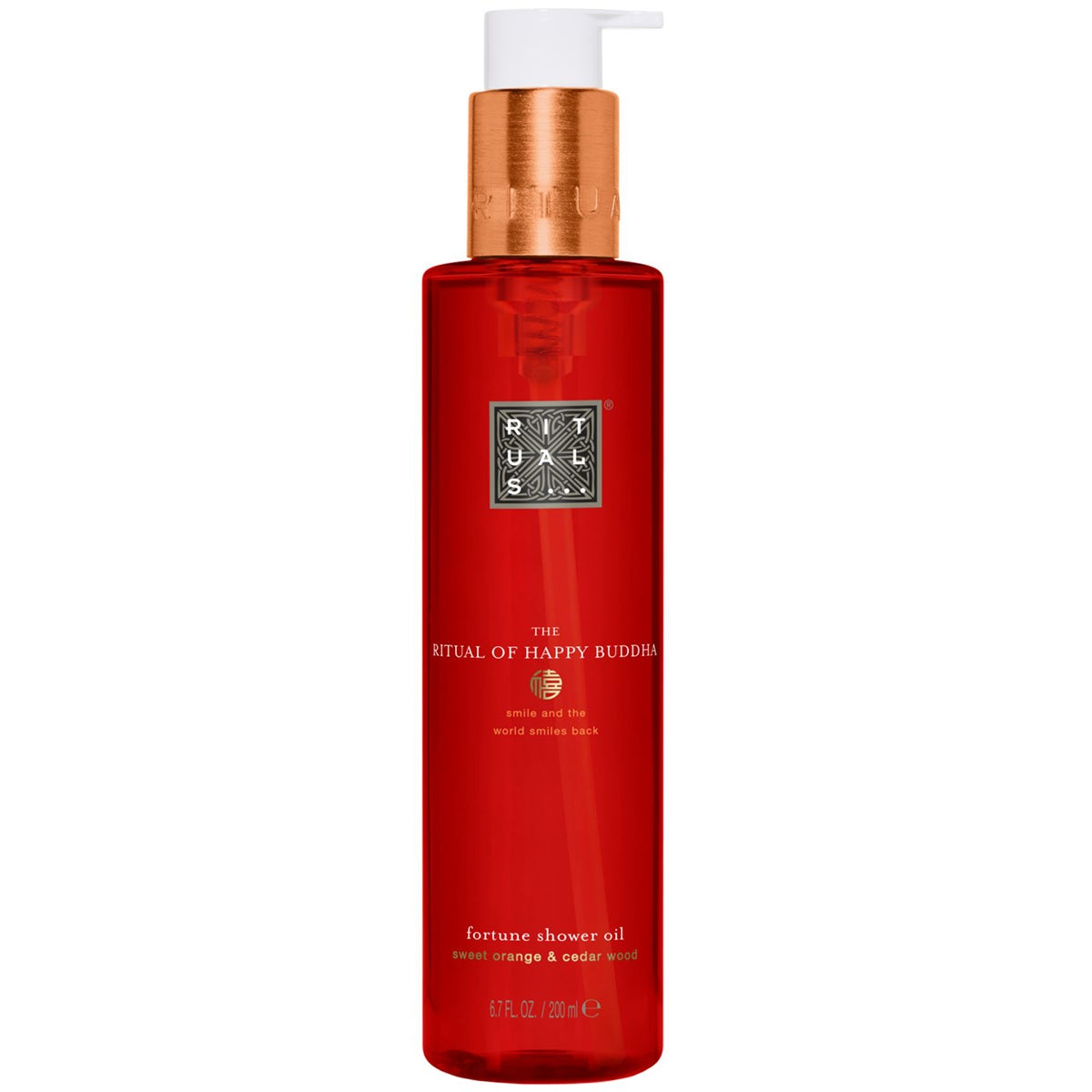 Rituals... Rituals The Ritual of Happy Buddha Shower Oil