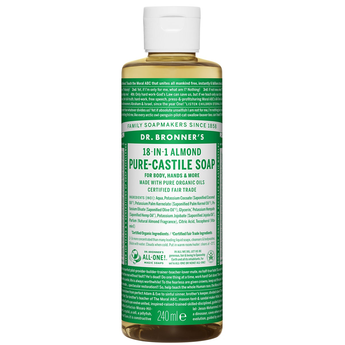 Dr. Bronner's Magic Soaps Almond