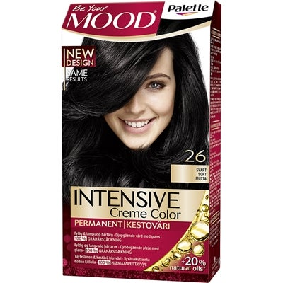 MOOD Mood Haircolor 26 Black