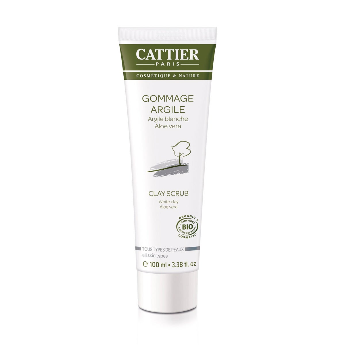 Cattier Paris White Clay Scrub