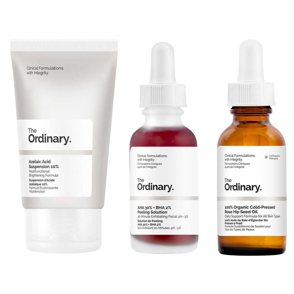 The Ordinary Set Of Actives - Acne scars