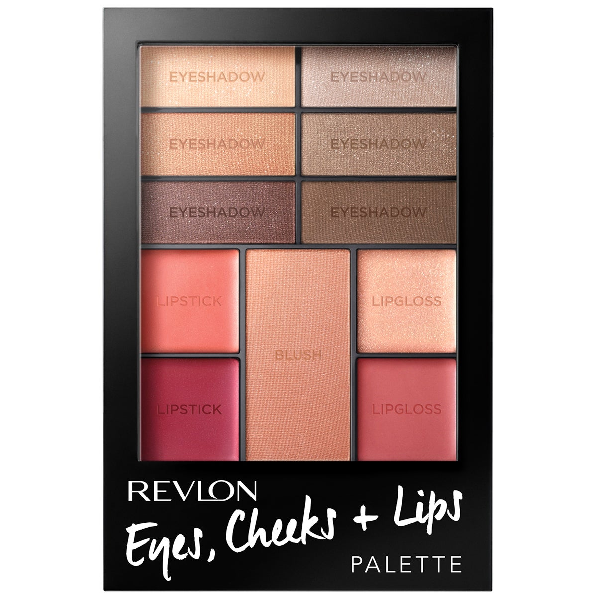 Revlon Cheeks, Eye + Lips Palette
