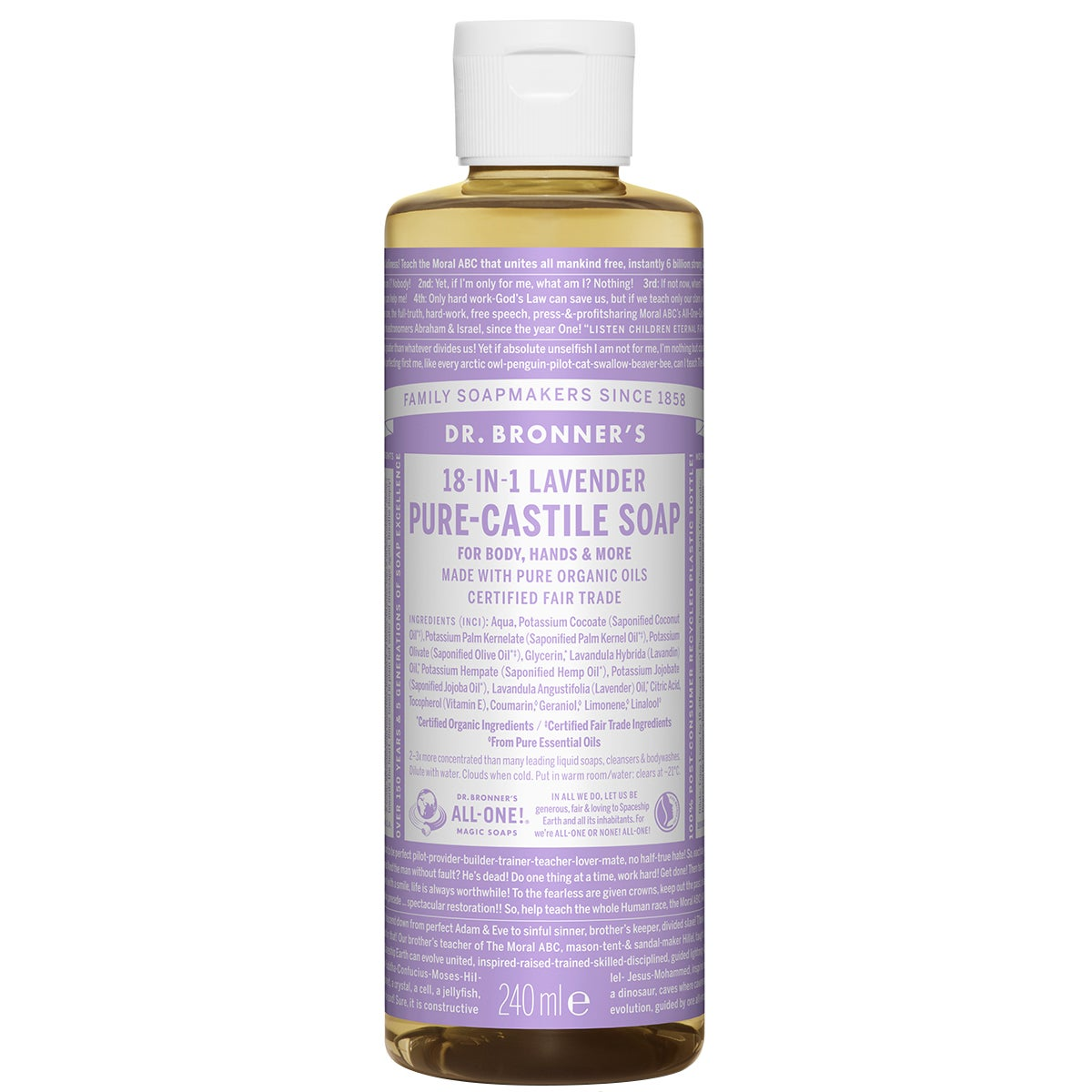 Dr. Bronner's Magic Soaps Lavender