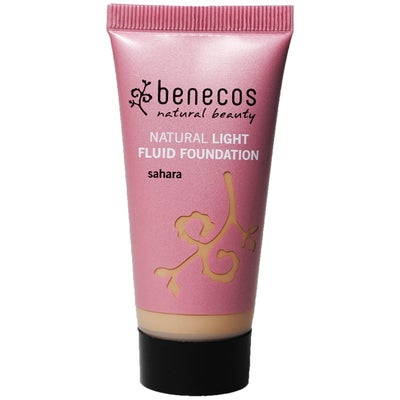 Benecos Natural Light Fluid Foundation - Sahara