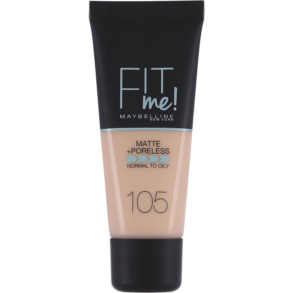 Maybelline Fit Me Matte + Poreless Foundation, 30 ml Maybelline Meikkivoide