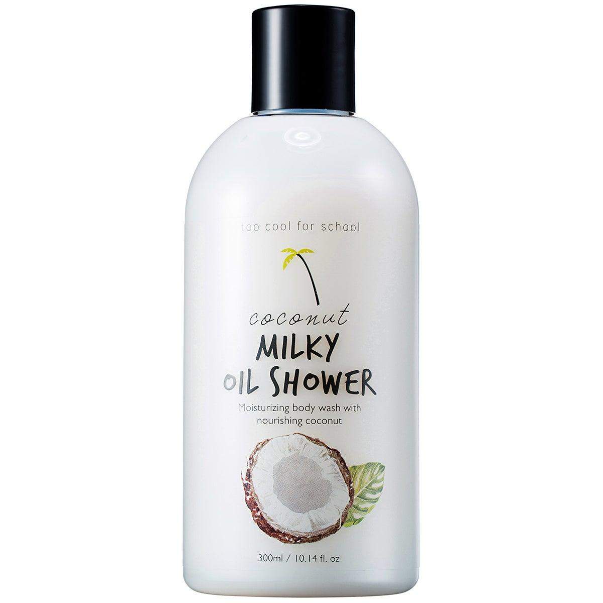 TooCoolForSchool Coconut Milky Oil Shower