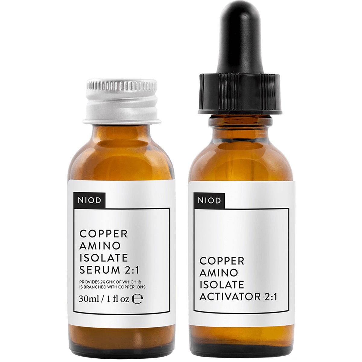 NIOD Copper Amino Isolate Serum 2:1