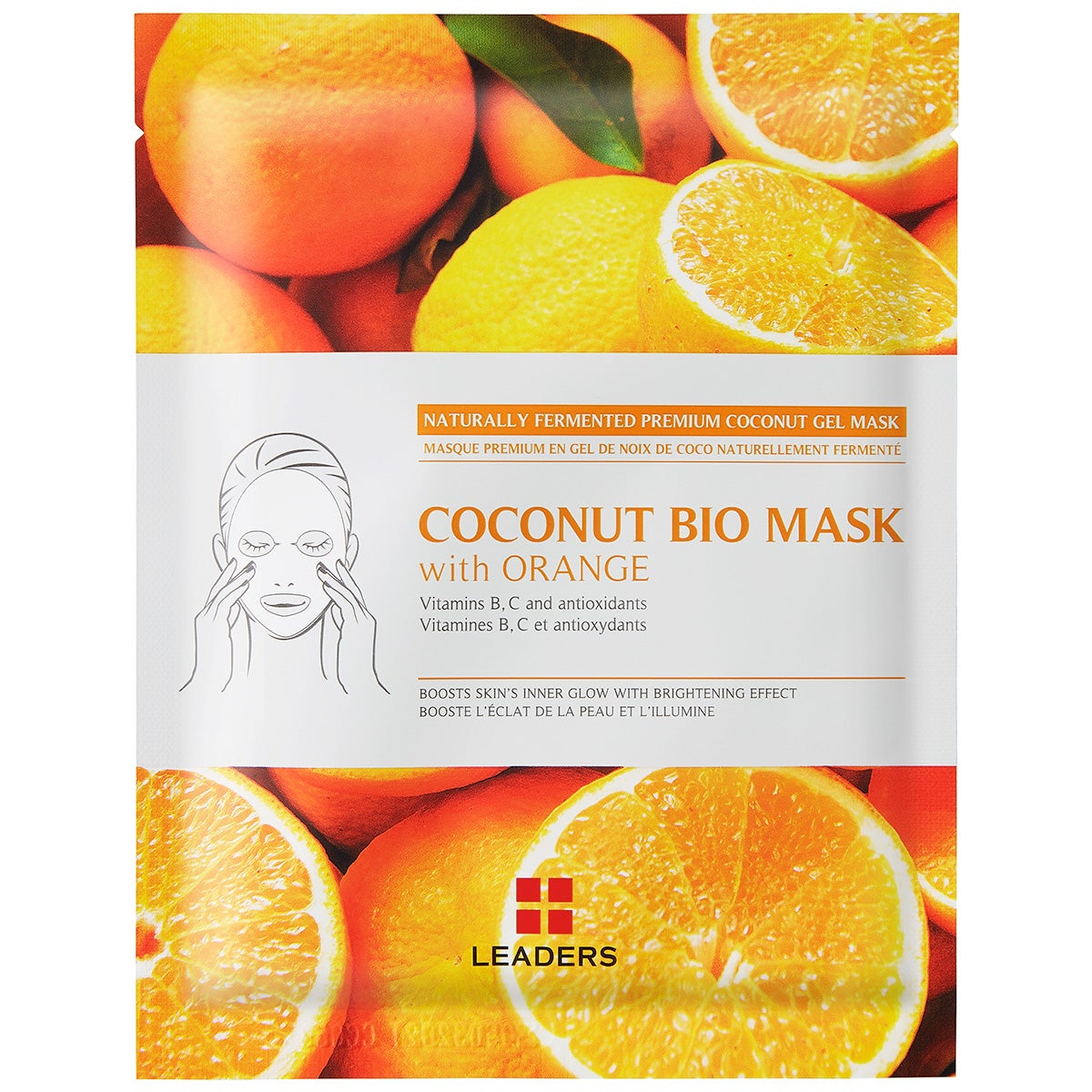 Leaders Insolution Coconut Bio Mask With Orange