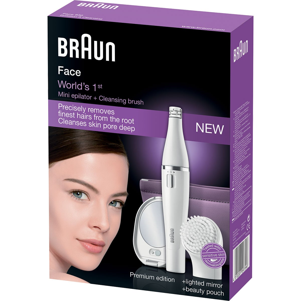 Braun Epilation & Cleansing Face 830