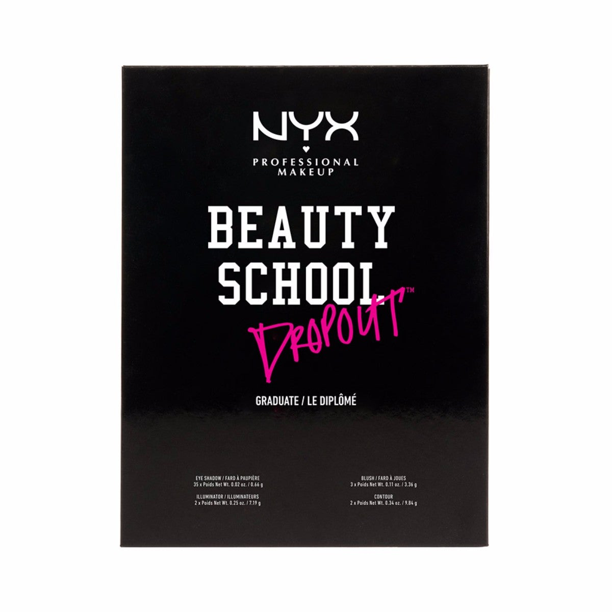 NYX Professional Makeup Beauty School Dropout Graduate