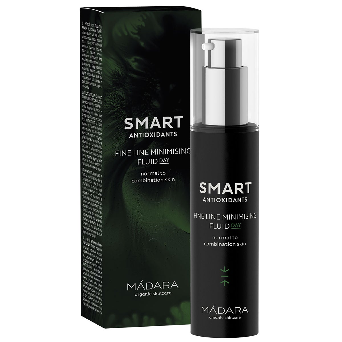 MÁDARA ecocosmetics Smart Antioxidants Fine Line Minimizing Fluid Day