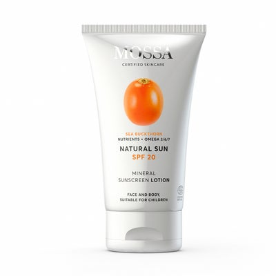MOSSA NATURAL SUN Mineral Sunscreen Lotion