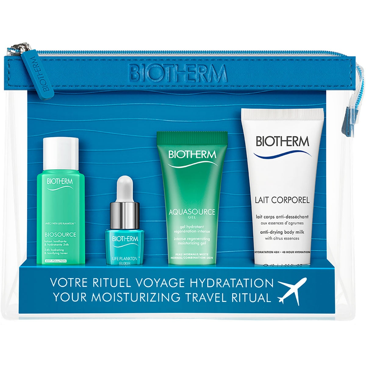 Biotherm Aqs Pnm Travel Instit Women Set 19