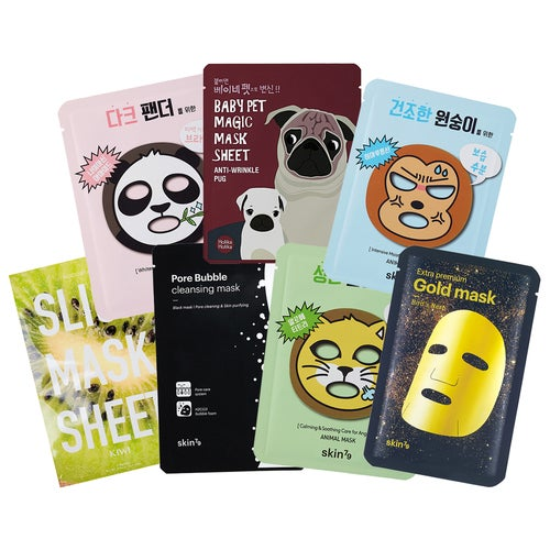 Skin79 7 Days of Sheet Masking - Don't Grow Up, It's a Trap