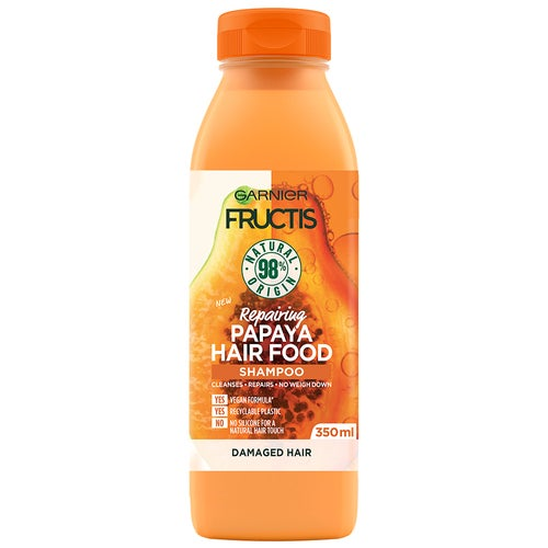 Garnier Fructis Hair Food Shampoo Papaya