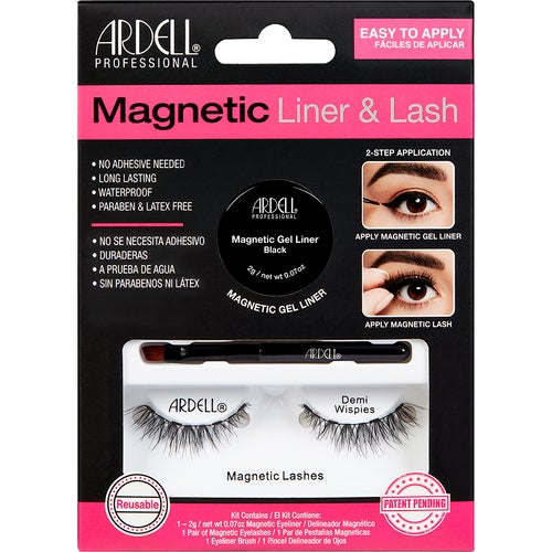 Ardell Magnetic Lash & Liner Kit Demi Wispies