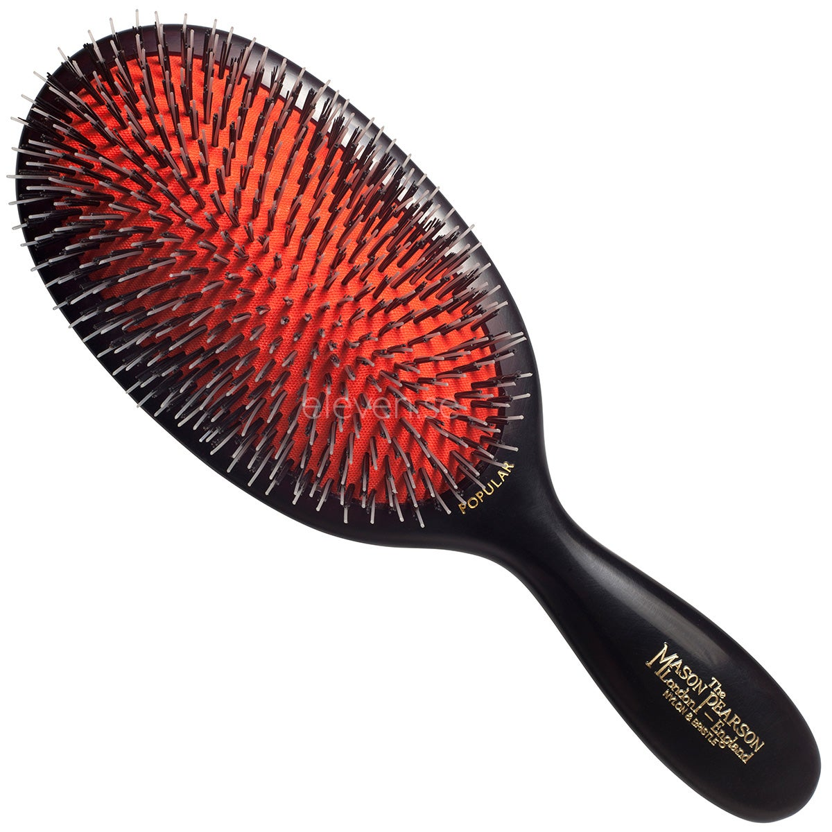 Mason Pearson Popular Bristle & Nylon, Dark Ruby