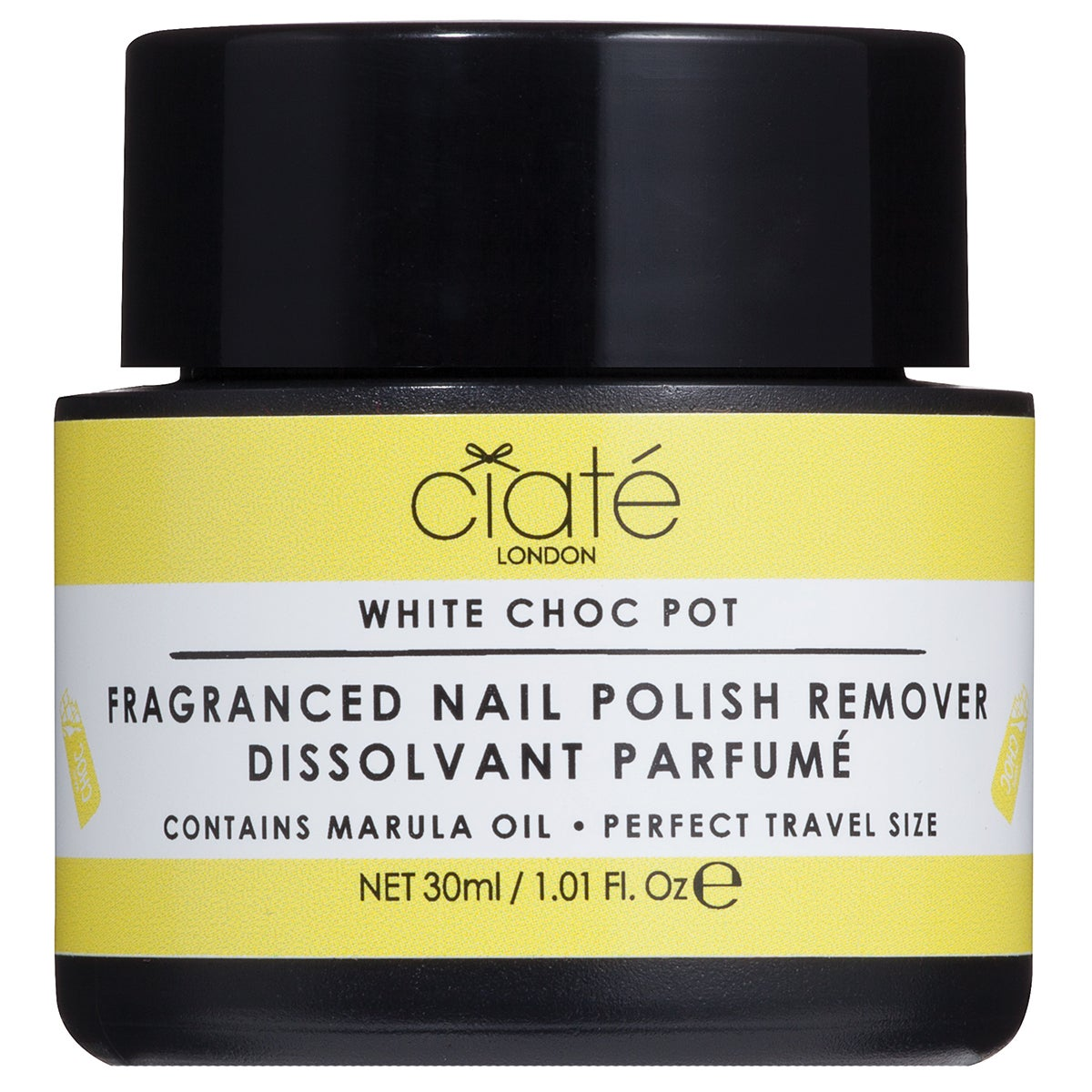 Ciaté Fragranced Nail Polish Dip-In Remover, White Chocolate