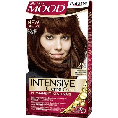 MOOD Mood Haircolor 25 Chocolate Brown