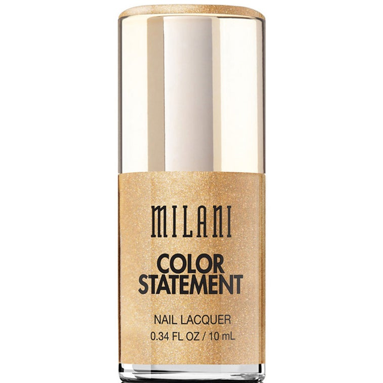 Milani Cosmetics Milani Color Statement Nail Lacquer, Gold plated