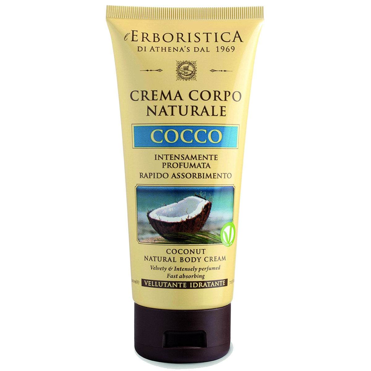 L'Erboristica Coconut Natural Body Cream