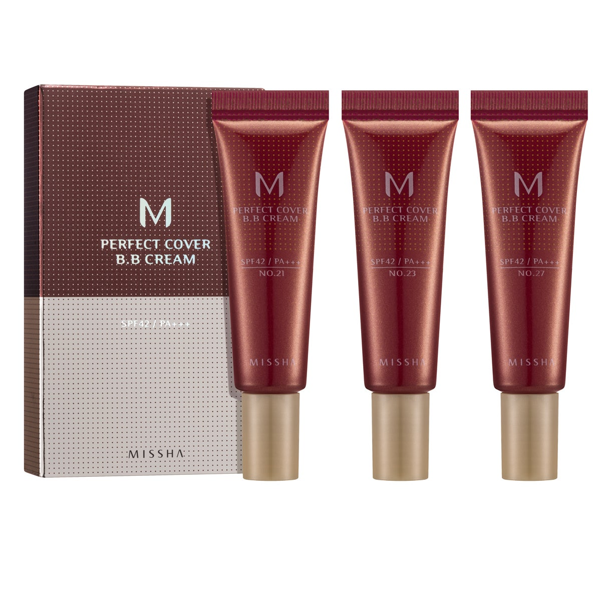MISSHA M Perfect Cover BB Cream Trial Kit A