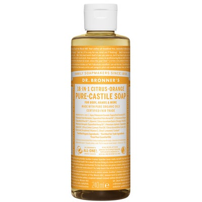 Dr. Bronner's Magic Soaps Citrus-Orange
