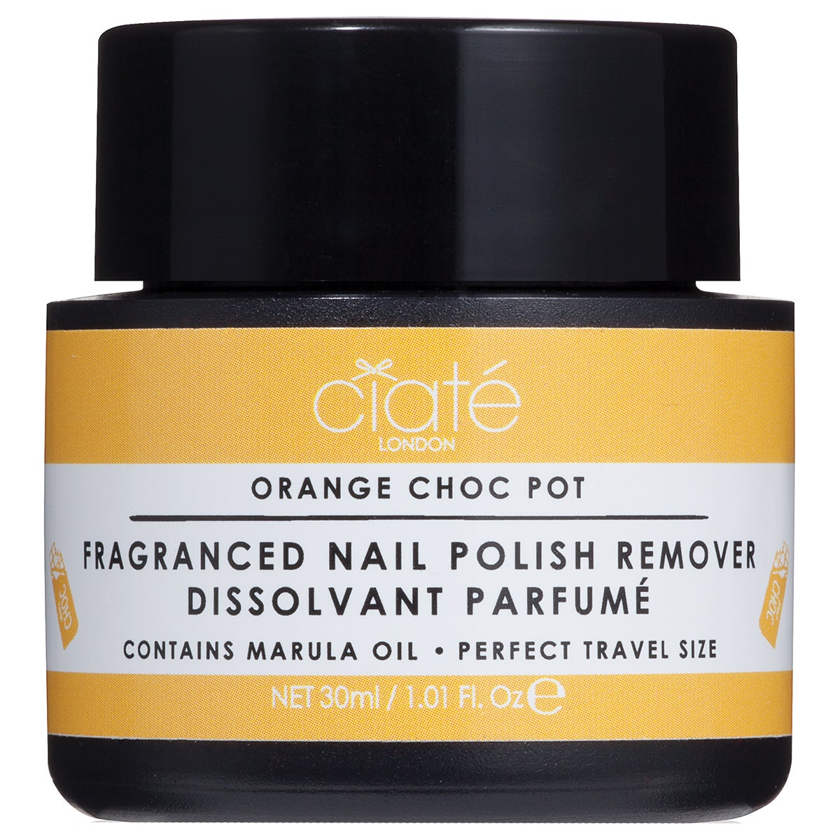 Ciaté Fragranced Nail Polish Dip-In Remover, Orange Chocolate