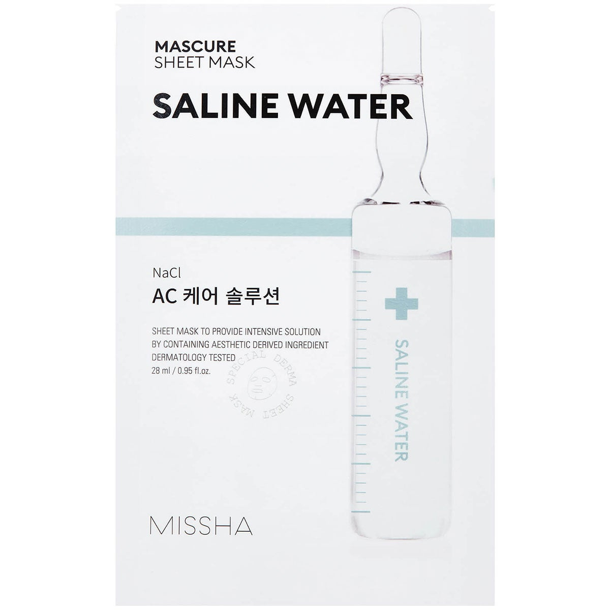 MISSHA Mascure Ac Care Solution Sheet Mask
