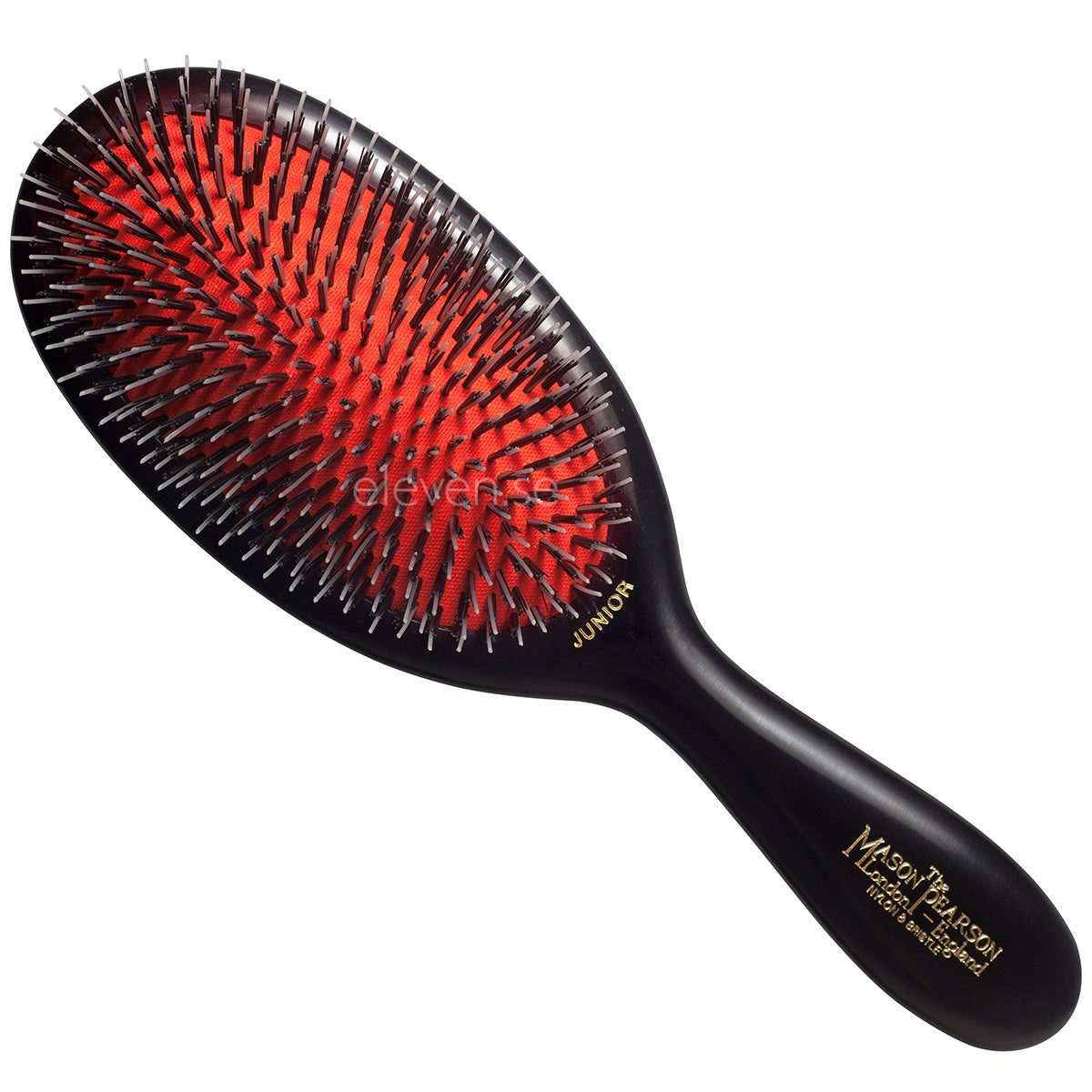 Mason Pearson Junior Bristle & Nylon, Dark Ruby