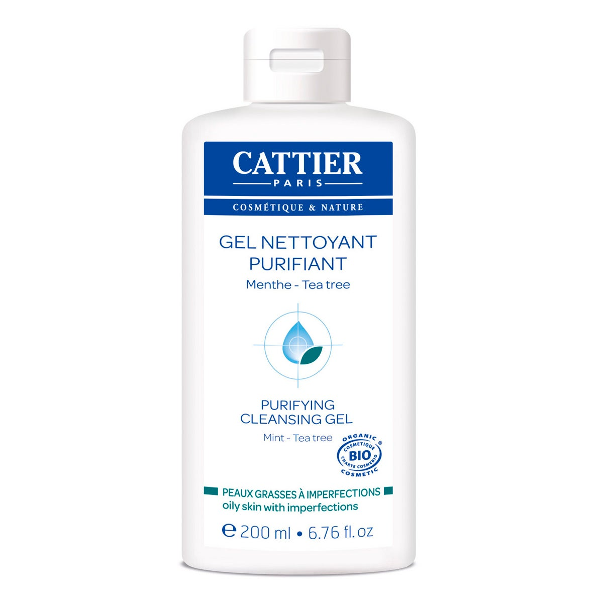 Cattier Paris Purifying Cleansing Gel
