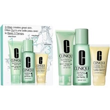 Clinique 3-Step Skin Care Intro Set, Skin Type 1