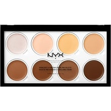 NYX Professional Makeup NYX PROFESSIONAL MAKEUP Highlight & Contour Cream Pro Palette