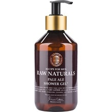 Raw Naturals by Recipe for Men Raw Naturals Pale Ale Shower Gel
