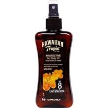 Hawaiian Tropic Protective Dry Spray Oil, SPF 8