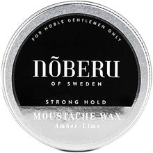 Nõberu of Sweden Strong Hold Mustach Wax