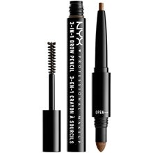 NYX Professional Makeup NYX PROFESSIONAL MAKEUP 3-In-1 Brow Pencil