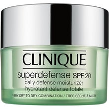 Clinique Superdefense SPF 20 Daily Defence Moisturizer, Very Dry to Dry Combination