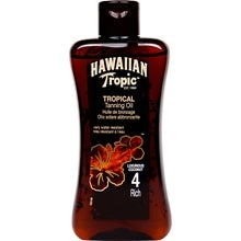 Hawaiian Tropic al Tanning Oil Rich SPF 4