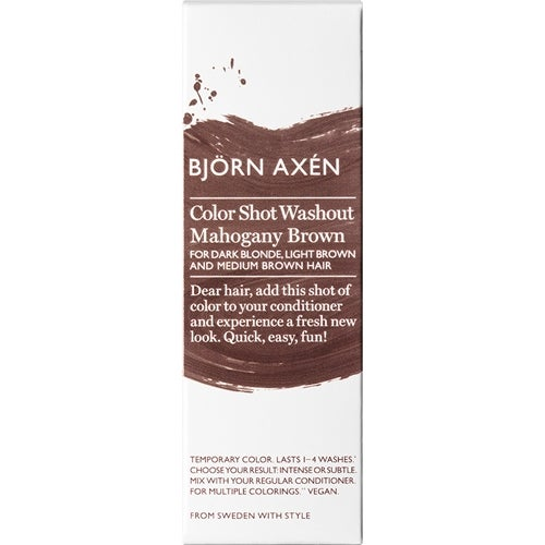 Björn Axén Color Shot Washout Mahogany Brown
