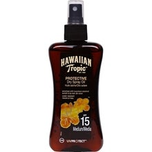 Hawaiian Tropic Protective Dry Spray Oil, SPF 15