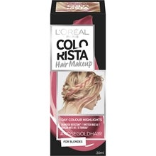 L'Oréal Paris L'Oreal Paris Colorista Temporary Hair Makeup, #RosegoldHair for Blondes