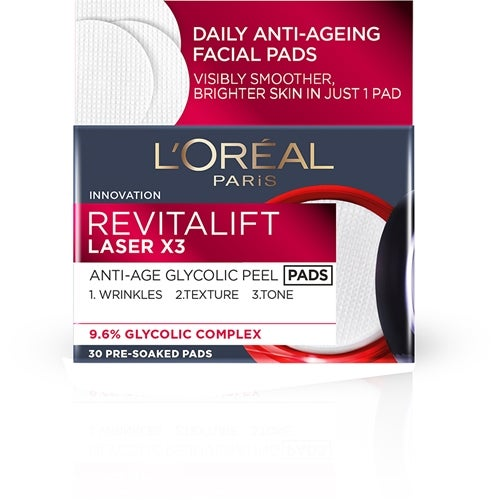 L'Oréal Paris Revitalift Anti-Age Glycolic Peel Pads