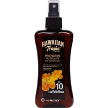 Hawaiian Tropic Protective Dry Spray Oil, SPF 10