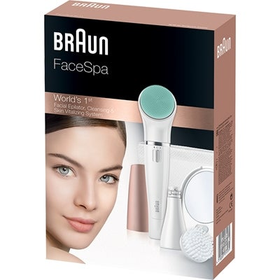 Braun FaceSpa 851V Epilator